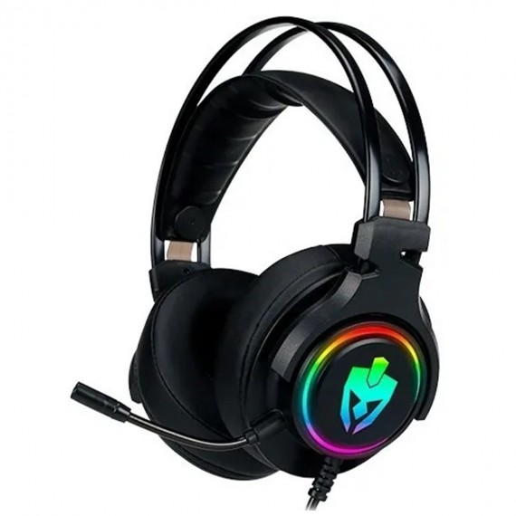 Headset Gamer 7.1 Surround Evolut Agni Pro Eg-340 Fone Ouvid