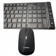 Kit Teclado E Mouse S/ Fio 2.4ghz Wireless Multimídia EO503