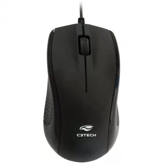 MOUSE Optico 1000DPI C3TECH MS26BK PRETO USB Ultra Resistent