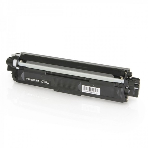 CART DE TONER COMPATIVEL C/ TN221/225 BK 2,5K