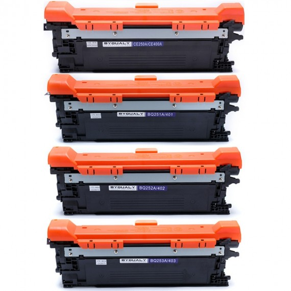 Kit 4 Toner 507a Compativel 500 Color M551 M570 M575