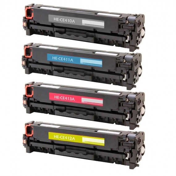 Kit 4 Toners para impres 2020 2025 m351 m375 m451 m475 m476