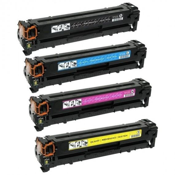 Kit 4 Toners Ce410 Ce411 Ce412 Ce413 P/ 305 A M351 M451 Novo