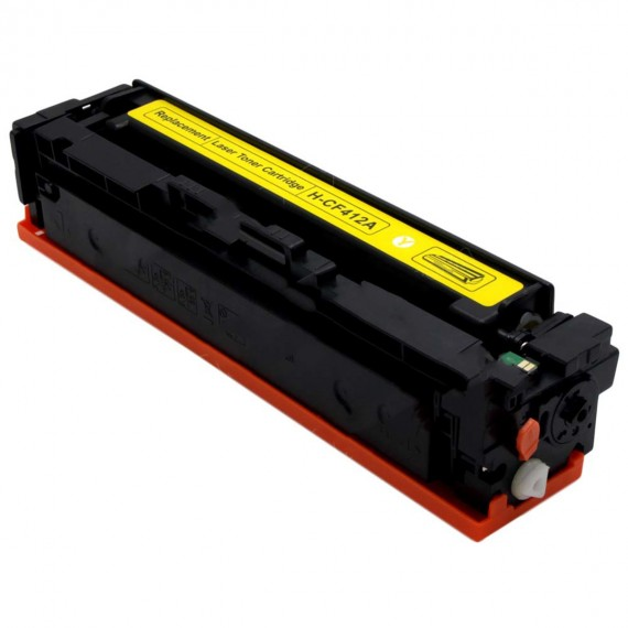 Toner AMARELO Compatível CF412A para impressora M452 M477