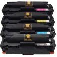 Kit 4 Toners Compatível Cf410x 411x 412x 413x Color Laser Ar