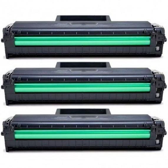 3 Toner Compatível Para Samsung Ml 2165 Mlt D101s  Scx 3405