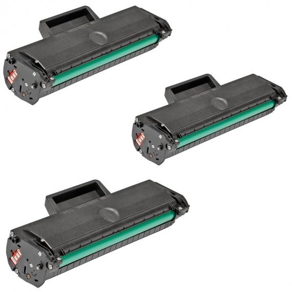 3 Toners Alta Qualidade D104s Ml1665 Ml1666 Ml1660 Scx3200