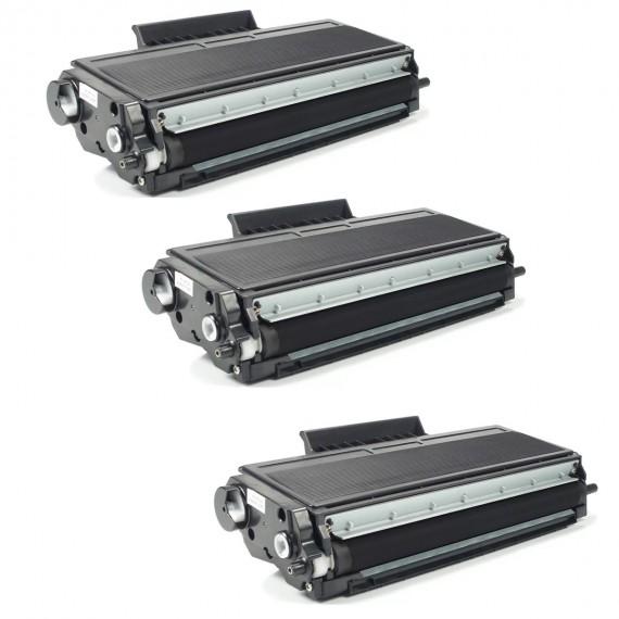 3 Unidades Toner Compatível Tn580 Tn 620 Tn650 P/ 8080 8060