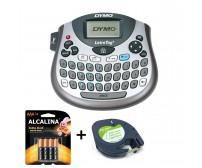 Rotulador Etiquetadora Letratag Lt100t Dymo C/1 Fita 4 Pilha