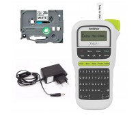 Rotulador Eletrônico Brother Pt-h110 1 Fita 1 Fonte Compatível