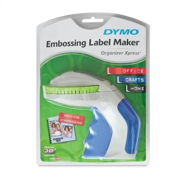 Rotulador Manual Dymo Organizer Xpress BRANCO/AZUL